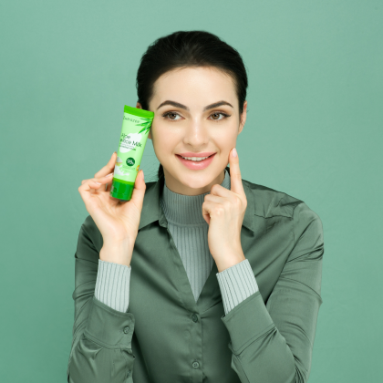 98% Aloe Vera & Rice Milk - Cleansing Foam (50g)