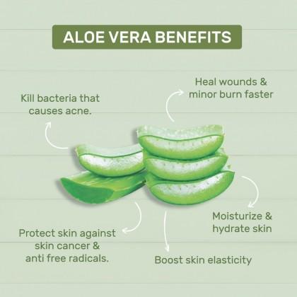 98% Aloe Vera & Rice Milk - Cleansing Foam (100g)