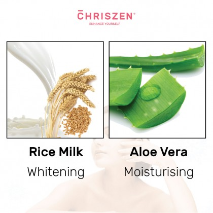 98% Aloe Vera & Rice Milk - Cleansing Foam (100g)