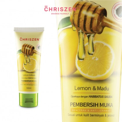 Pembersih Muka Lemon & Madu (Lemon & Honey)
