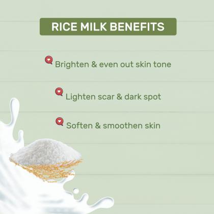 [BUNDLE] 98% Aloe Vera & Rice Milk Facial Medium Set