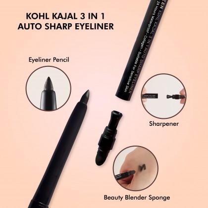 Chriszen Kohl Kajal 3 in 1 Auto Sharp Eyeliner