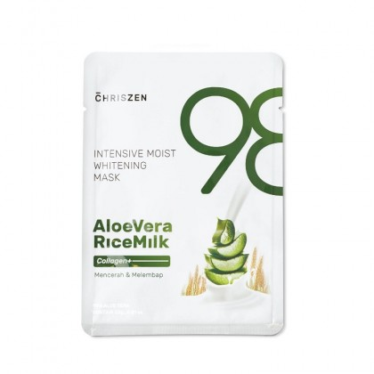 98% Aloe Vera & Rice Milk Collagen Plus - Intensive Moist Whitening Mask