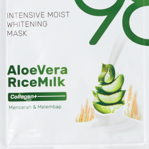 98% Aloe Vera & Rice Milk Collagen+ Intensive Moist Whitening Mask