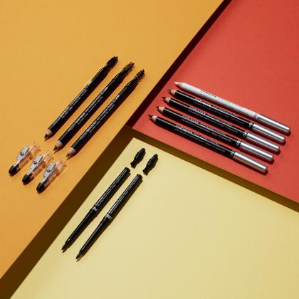 Chriszen 3 In 1 Wooden Eyebrow Pencil