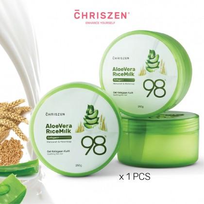 98% Aloe Vera & Rice Milk Collagen Plus - Soothing Skin Gel