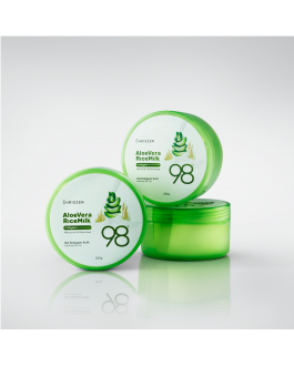 98% Aloe Vera & Rice Milk Collagen+ Soothing Skin Gel