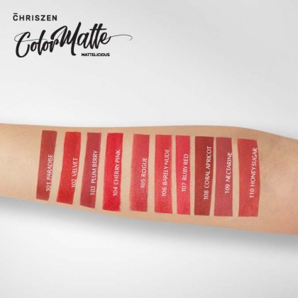 Color Matte Lipsticks - 10 Colors Selection