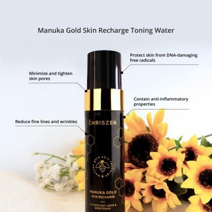 Chriszen Manuka Gold Skin Recharge Toning Water