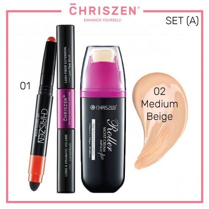 [BUNDLE] Roller Moist Cream + Waterproof Mascara + Lip Tinted Stick