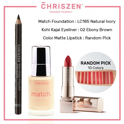 [BUNDLE] Match Matte Serum Foundation