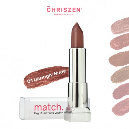 Match MagniNude Matte Lipsticks - 6 Colors Selection
