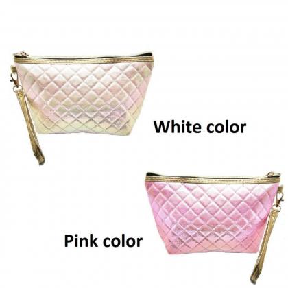 Holo Make Up Bag - 2 Colors Selection