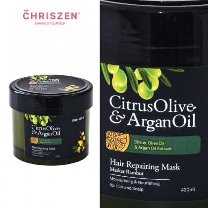 Citrus Olive & Argan Oil - Hair Repairing Mask (430ml)