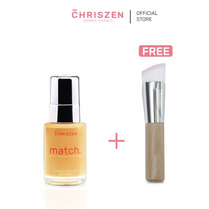 Match Matte Serum Foundation + FREE Foundation Brush