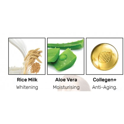 Aloe Vera Rice Milk Soothing Set