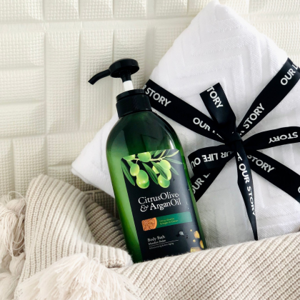 Chriszen Citrus Olive & Argan Oil Body Bath (550ml)
