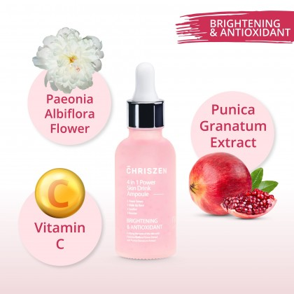 Chriszen 4 In 1 Power Skin Drink Brightening & AntioxidantAmpoule