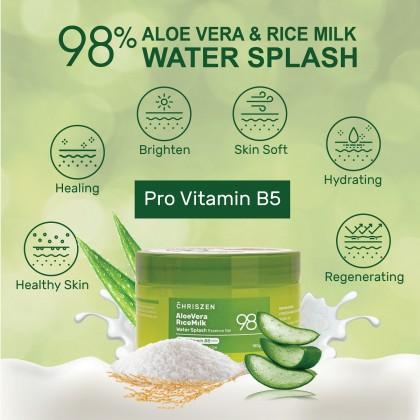 98% ALOE VERA & RICE MILK WATER SPLASH 180g