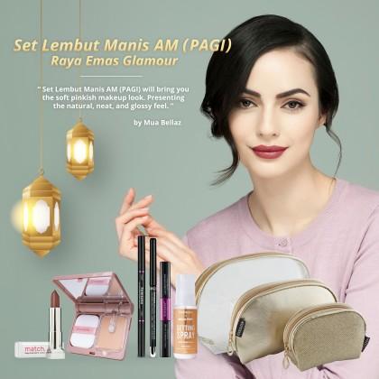 Lembut Manis AM (Pagi) Raya Emas Glamour Set