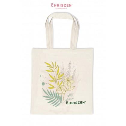 Chriszen Floral Tote Bag