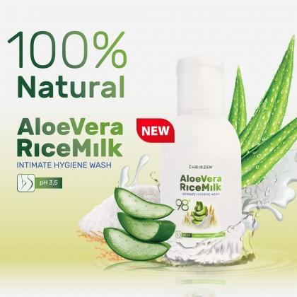 98% Aloe Vera & Rice Milk Intimate Hygiene Wash 80ml