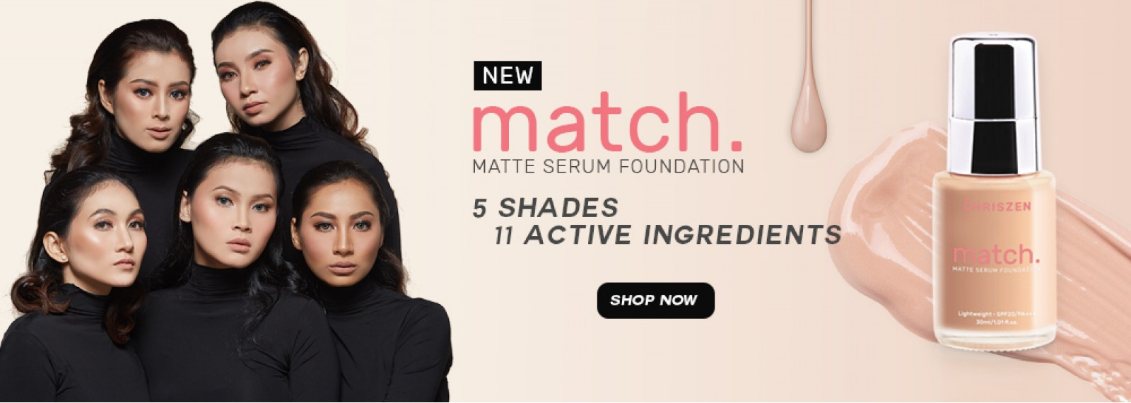 MATCH MATTE SERUM FOUNDATION